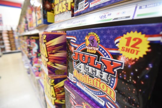 Phantom Fireworks on Koogle Road is stocked and ready for the fireworks season.