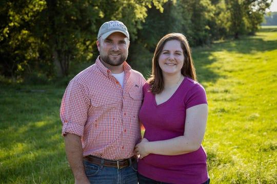 Adam and Megan Caughern have earned the 2019 Louisiana Farm Bureau Young Farmer and Rancher Achievement award.