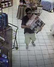 This man is sought by police after a robbery at Belk in the Eastdale Mall