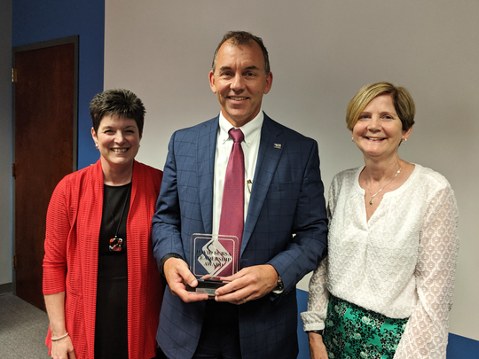 Chris Caldwell has been awarded the 2019 David Sursa Leadership Award to recognize his dedicated service to United Way of Delaware and Henry Counties.
