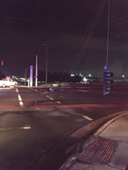 Waldron Road at Bridgestone closed after downed power lines