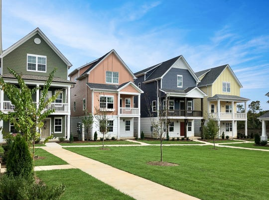The single-family homes in ParkVue will be similar to those in Waterford Village, the cottage neighborhood in Hendersonville developed by Parkside Builders.