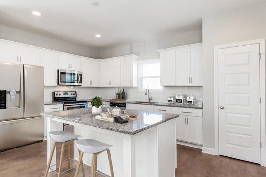 Kitchens in ParkVue will feature islands and stainless appliances. ParkVue is located at 7483 Highway 70S.