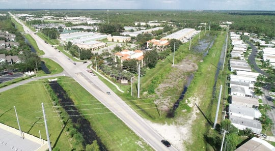 Here's a view of Old 41 Road between in Collier County.