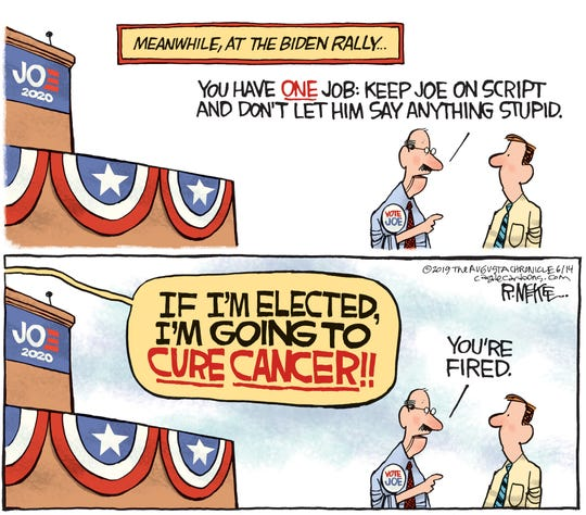 biden says he'll cure cancer