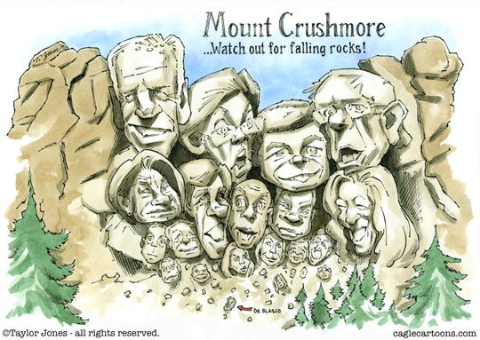 dems mount crushmore