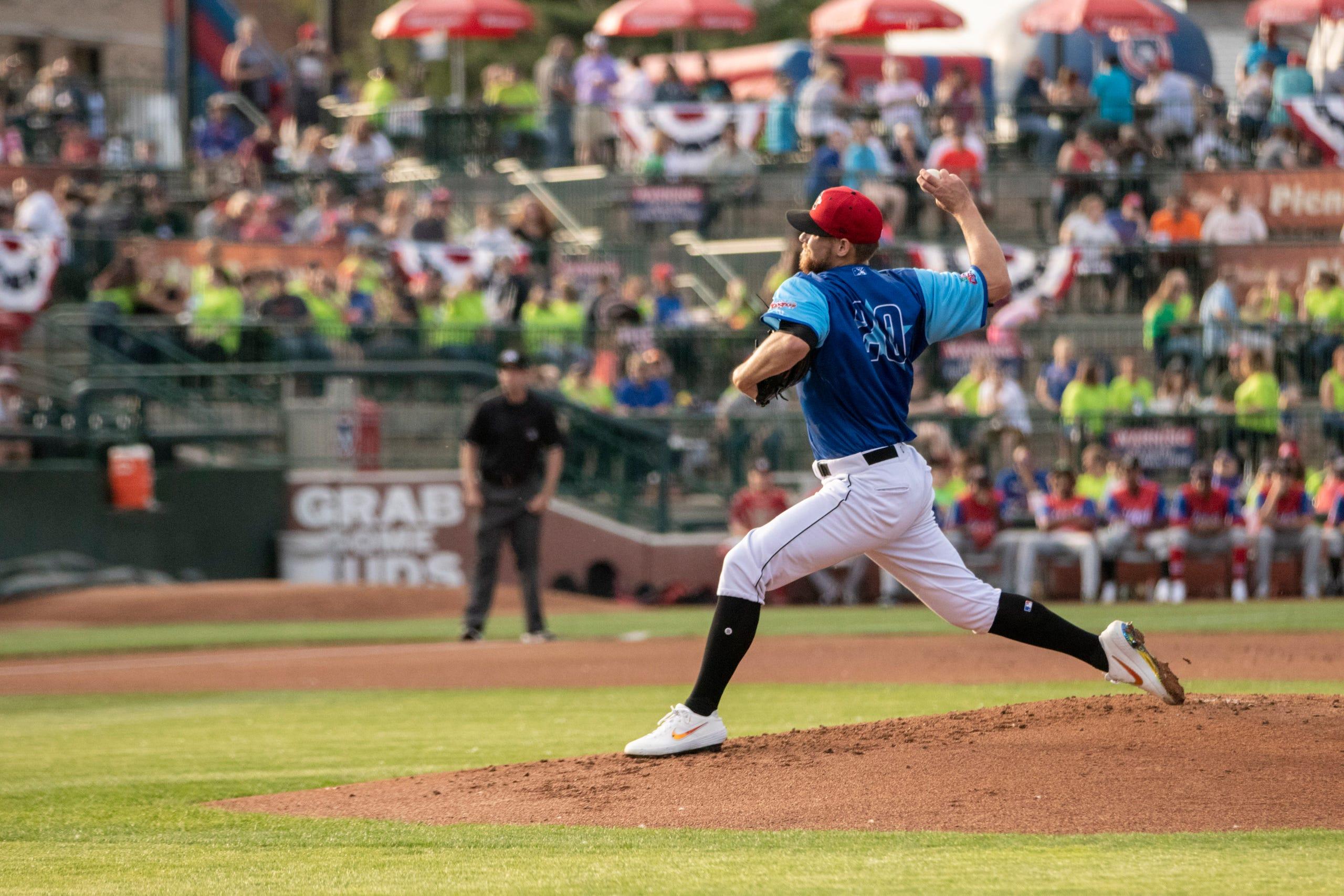 Photos: Estero grad Josh Winckowski shines in all-star game