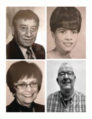 The Western New Mexico University School of Education Hall of Fame inductees include Max G. Padilla, Emma V. Saucedo, Barney P. Brienza and Olivia L. Ogas.