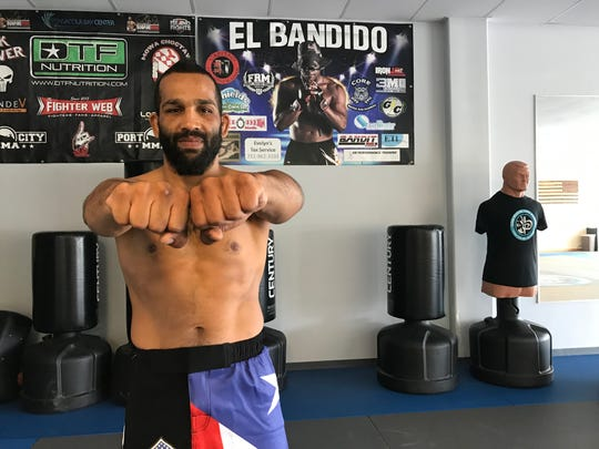 Elvin Leon Brito, a Gulf Breeze resident, is eager to remain undefeated in Bareknuckle Fighting Championships in his bout Saturday in Tampa.