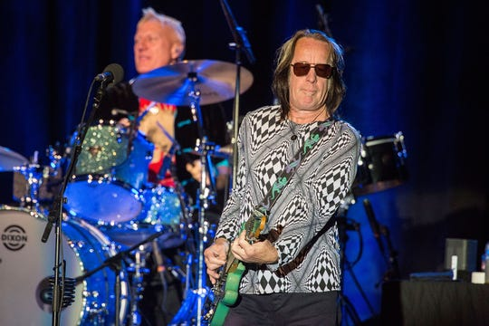 Todd Rundgren performs on March 14, 2015, in Pala, California.