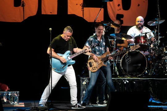 The Barenaked Ladies open for Hootie & the Blowfish at Ak-Chin Pavilion on June 19, 2019, in Phoenix.