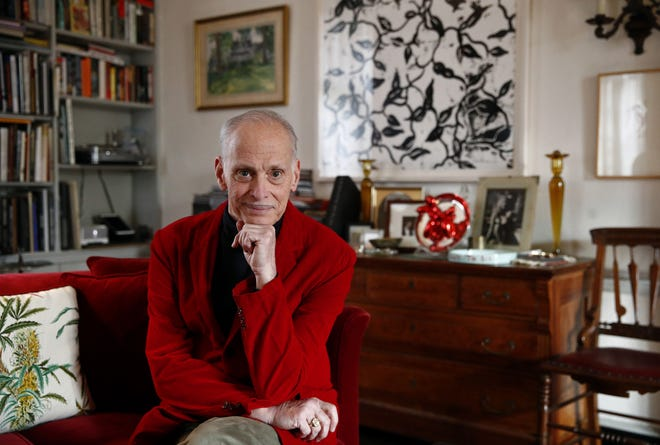 """Filmmaker John Waters poses for a photograph during a Dec. 5, 2017, interview at his home in Baltimore. Waters will visit Phoenix June 30, 2018, during his """"This Filthy World"""" speaking tour."""