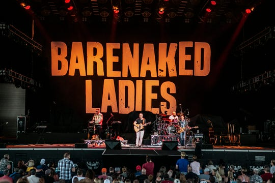 Barenaked Ladies will perform July 5 at the Amphitheater at White River State Park.