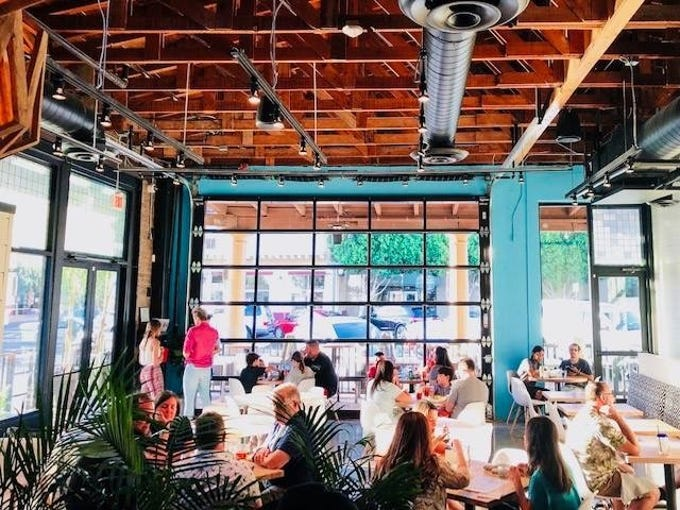 The interior of Las Palmas Cantina in Chandler. The restaurant will soon be replaced by a new concept, Chandler Yacht Club.