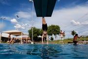 Pecos Park Swimming Pool in Phoenix.