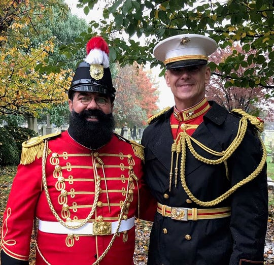 "Rod Miller, left, said among his proudest accomplishments is something he has been doing all 31 years of his career, the annual ""Sousa Concert,"" a tribute to ""The March King"" John Philip Sousa."
