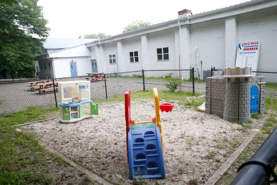 The playground at Red Hook Community Center in Red Hook on June 19, 2019. With help from a Gannett Foundation grant, the center plans to upgrade the playground.