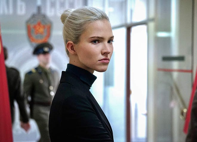 "Sasha Luss stars in ""Anna,"" playing at Regal West Manchester, Frank Theatres Queensgate Stadium 13 and R/C Hanover Movies."