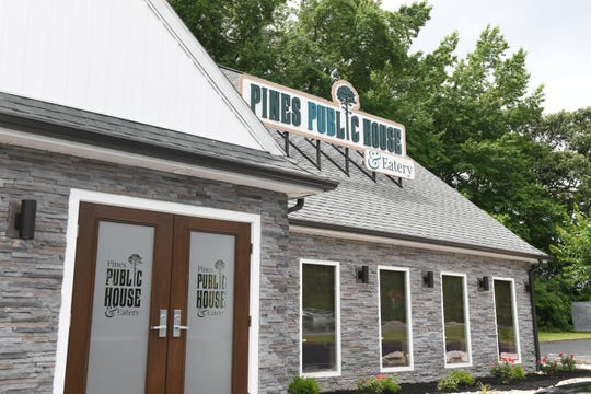 Inside the recently opened Pines Public House & Eatery located at the South Gate entrance in Ocean Pines.