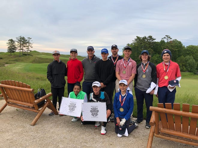 The Junior golfers from Sheboygan and Florida went head to head in a junior Ryder Cup this past week. For many of the Floridians it was their first time in Wisconsin.