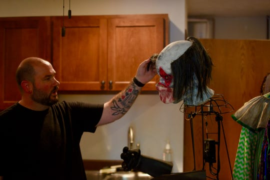 Zac Tenneboe plans on incorporating some of his own Halloween decorations into the his haunted house, Terror 29.