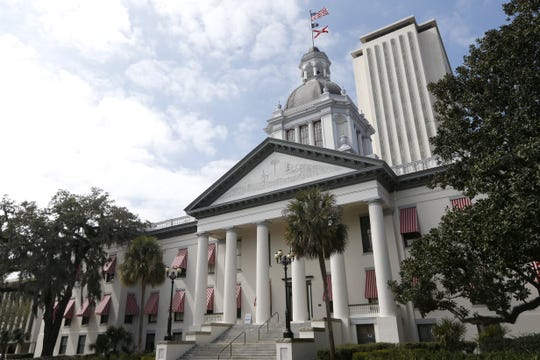 The Florida Capitol in Tallahassee