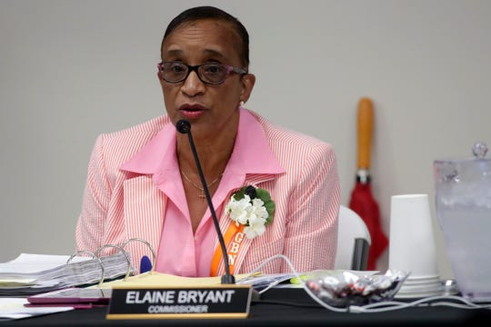 Commissioner Elaine Bryant at the City Commission meeting held at the Smith-Williams Service Center Wednesday, June 19, 2019.