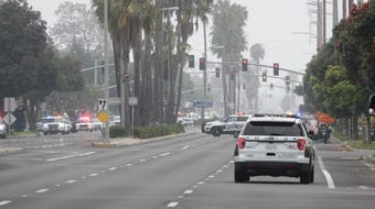 This was the scene on June 20, 2019, near the scene of a gunfire incident in the 1400 block of South Victoria Avenue in Oxnard.