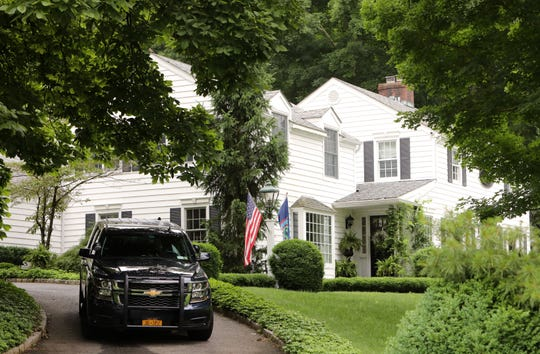 The home of Sandra Lee and Gov. Andrew Cuomo at 4 Bittersweet Lane in Mount Kisco June 20, 2019.