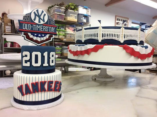 Yankee cake from 2018 created by Homestyle Desserts in Peekskill.