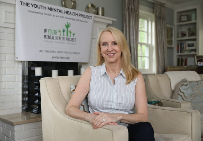 Randi Silverman, the founder and executive director of the Youth Mental Health Project, is pictured at her home in Dobbs Ferry, June 20, 2019. The nonprofit Youth Mental Health Project is receiving $12,500 to expand its Parent Support Network, from a grant from A Community Thrives and the Gannett Foundation.