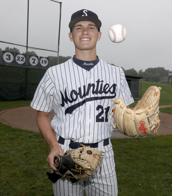 Suffern's Jack Scanlon, Rockland County baseball player of the year June 20, 2019.