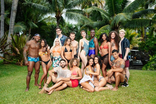 "The cast of MTV's ""Are You The One?"" season eight."