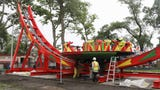 Playland promotes a contest to name a new thrill ride at the amusement park in Rye.