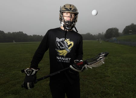 Nanuet's Matthew Lowther, the Rockland lacrosse player of the year June 20, 2019.