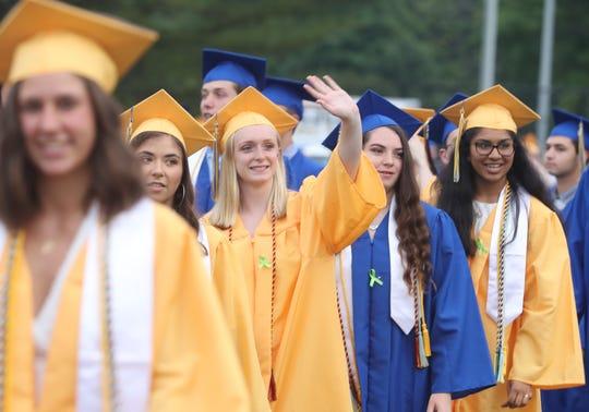 Mahopac High School held its graduation ceremony at the school June 19, 2019.