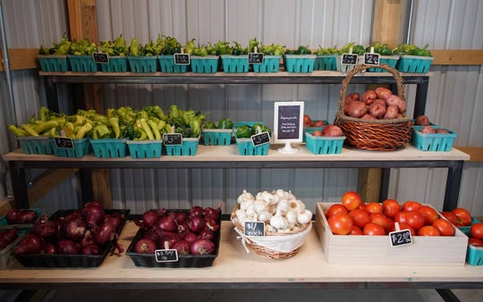 The Food Bank of Delaware now has a Farm Stand with produce grown on the four-acre farm along with produce from partnering farms.