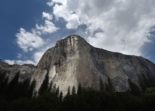 In this file photo taken on June 03, 2015 the El Capitan is seen in the Yosemite National Park in California.