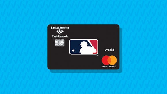 MLB Cash Rewards Mastercard from Bank of America