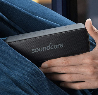Bring your tunes to the beach, pool, or park this summer with the Anker.
