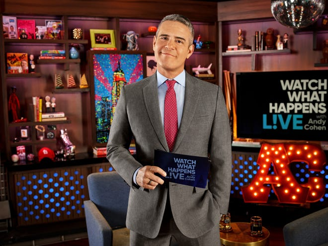 """Andy Cohen is celebrating 10 years on """"Watch What Happens Live with Andy Cohen."""""""