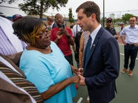 Protesters ask Pete Buttigieg about black lives matter movement during heated confrontation