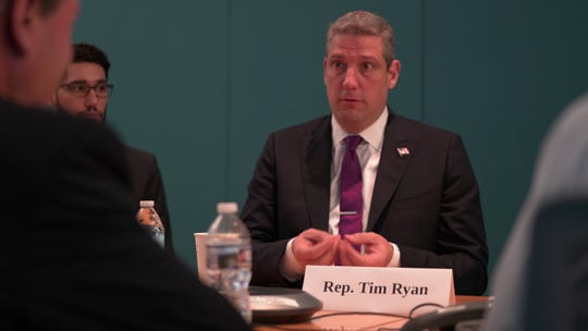 Rep. Tim Ryan, D-Ohio, discusses his presidential candidacy with the USA TODAY Editorial Board on June 19, 2019.