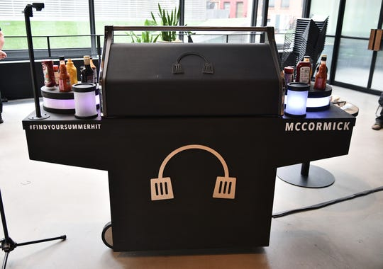 A view of atmosphere as McCormick unveils grill tech.