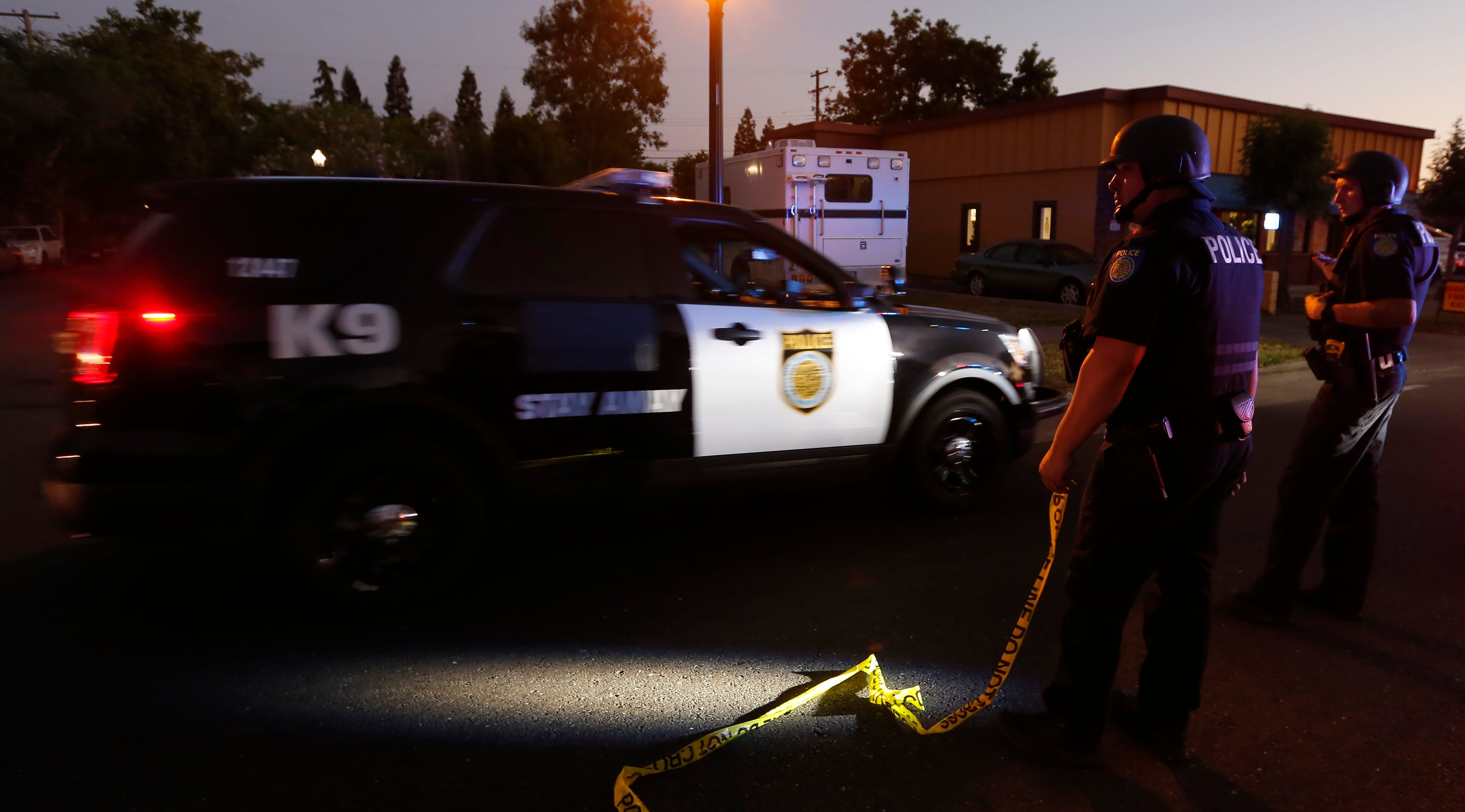 Sacramento police officer dies after long shooting standoff during domestic call