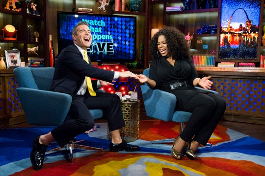 One of the highlights of Andy Cohen's career was having Oprah Winfrey on his show.