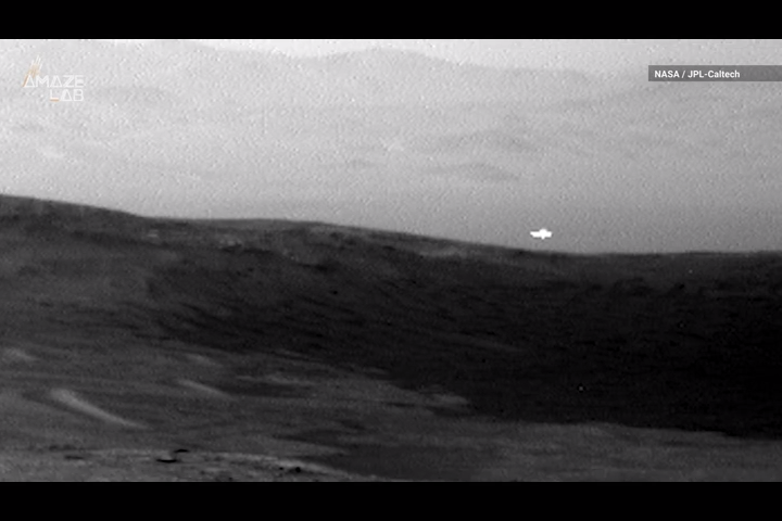 Curiosity rover spots mysterious light flash on Mars