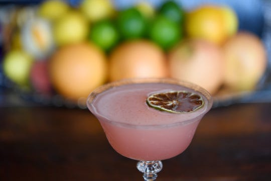 The Good and the Bad at Cultura is made with Vida mezcal, lime cordial, cayenne, PeychaudÕs bitters and saline.