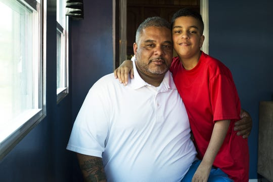"""""""I thank God for the opportunity to raise him,"""" Kevin Every said of his son Deron in 2016. Deron was born with a malformed heart, requiring open-heart surgery as an infant."""