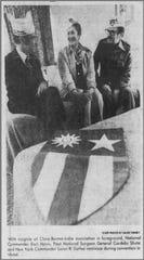 CBI veterans meet in Vestal during a convention in 1977. Walter Mach was in attendance that day.